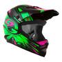 Capacete Motocross Infantil Ck 01 Pro Tork Oculos Gratis