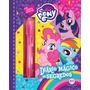 Diário Mágico My Little Pony c/caneta Mágica E Cadeado