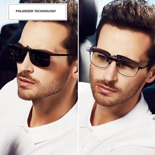 Comprar Lentes Clip On Sobrepor Óculos De Grau Proteção Uva Uvb 400 -  Apenas R  31,90 - Aprender Para Vencer 50b8293e8d