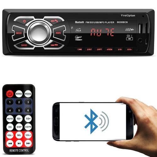 Radio Som Automotivo Mp3 Bluetooth Usb Pra Ford Focus 2000 Original