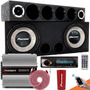 Caixa Trio Som Carro Pioneer Completa Taramps Mp3 Bluetooth