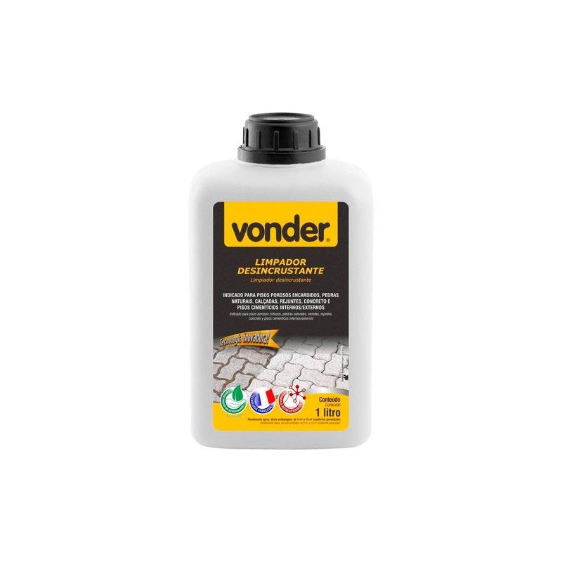 Limpador Desincrustante Biodegradável 1 Litro Vonder
