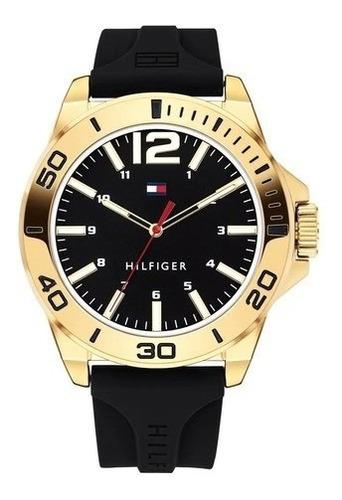 Relógio Tommy Hilfiger Masculino Esportivo Borracha Original