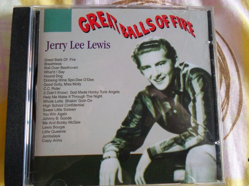 Cd Jerry Lee Lewis - Great Balls Of Fire Original