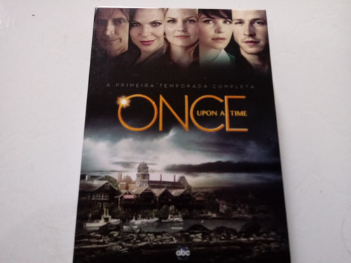 Box Once Upon A Time Primeira Temporada Completa Impecável Original