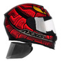 Capacete Moto Axxis By Mt Snake Serpente Viseira Extra