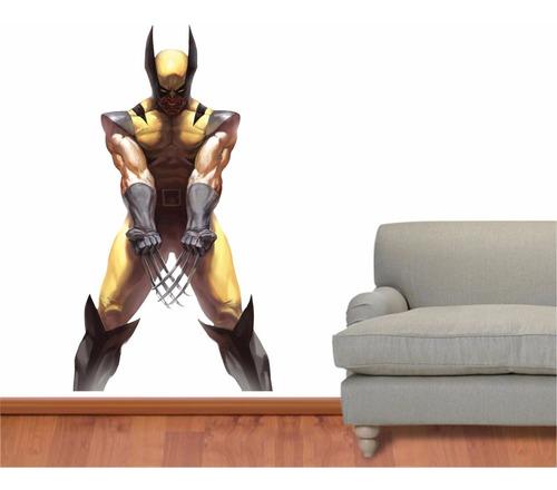 Adesivo Parede Quarto Iantil Super Heroi X Men Wolverine Original