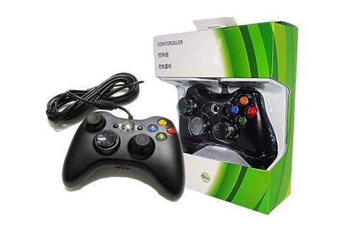 Controle Manete Xbox 360 Slim Pc 100%  Feir Knup Fio Original