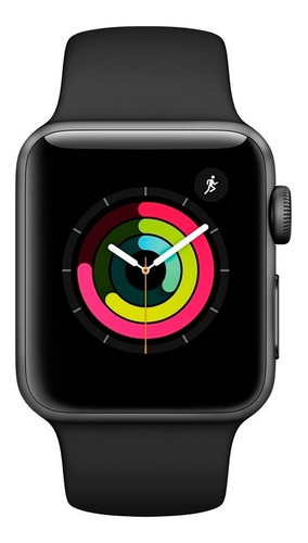 Apple Watch S3 Serie 3 Gps 42mm Lacrado Com Garantia 1 Ano Original