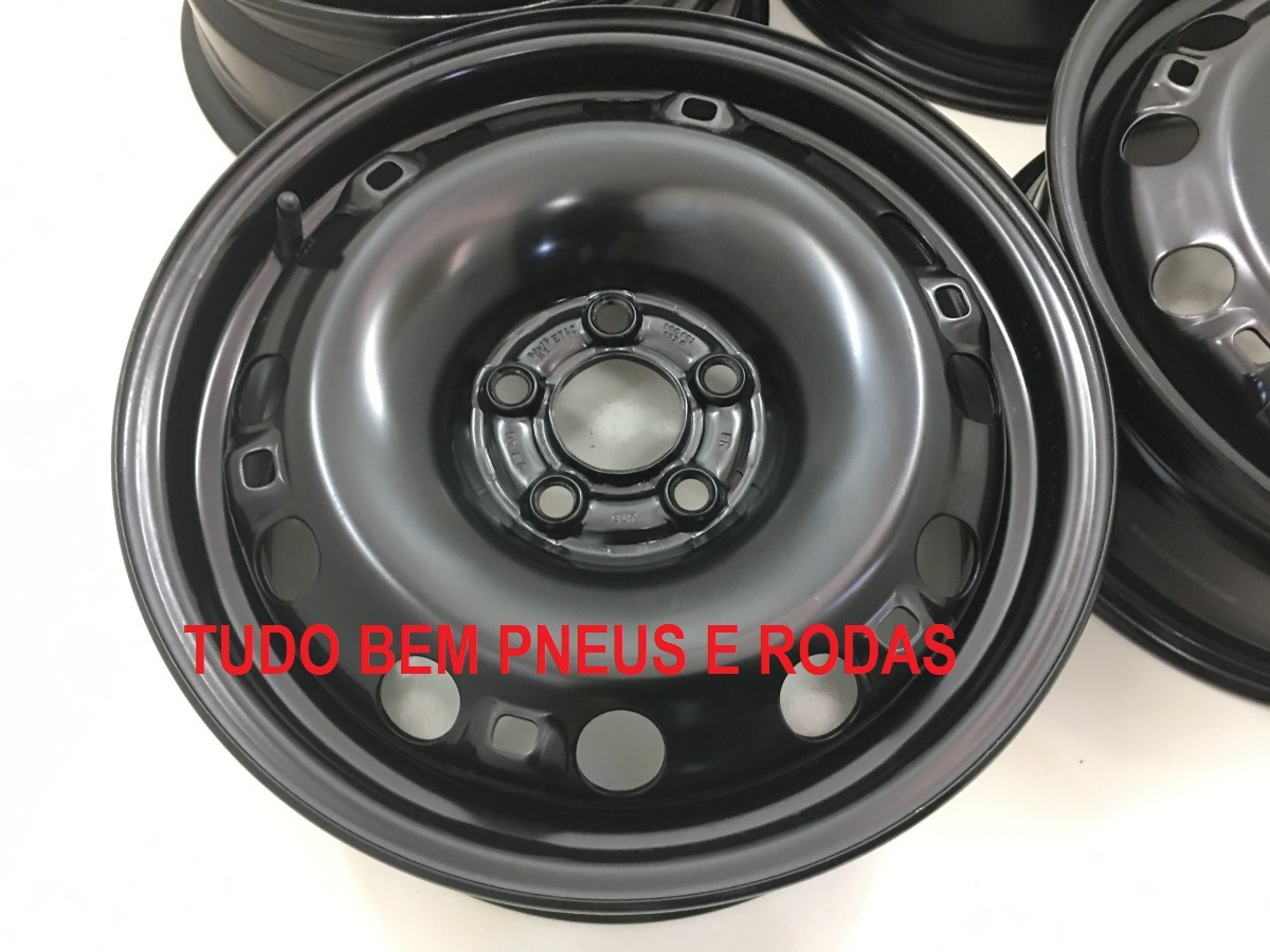Roda Ferro Vw Space Cross Prime Polo Fox Aro 15 5x100