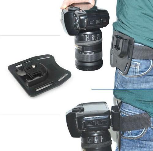 Suporte De Cinto Câmeras Digital Dslr Canon Nikon K-bm1 Original