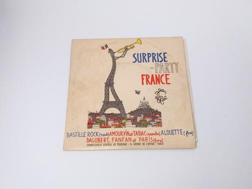 Disco Vinil Ep Compacto Surprise Party France Pierre Spiers Original