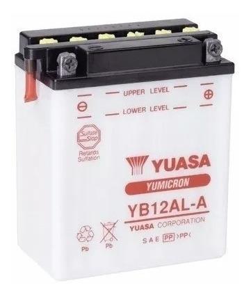 Bateria Yuasa Yb12al.a - Tenere 600/ Aprilia 650 Pegaso Original