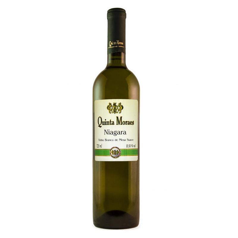 Vinho Branco Suave Niagara 720ml - Quinta Moraes