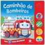 Caminhão De Bombeiros Sonoro C/ 4 Sons Divertidos!