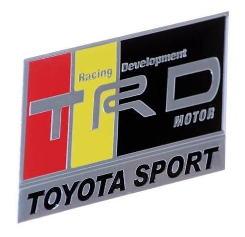 Emblema Toyota Sport - Corolla Etios Hilux Sw4 Camry Original