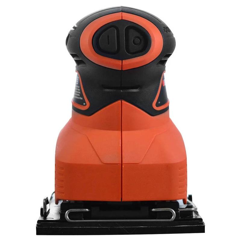 Lixadeira Orbital com Coletor de Pó 180w Black+Decker - QS800