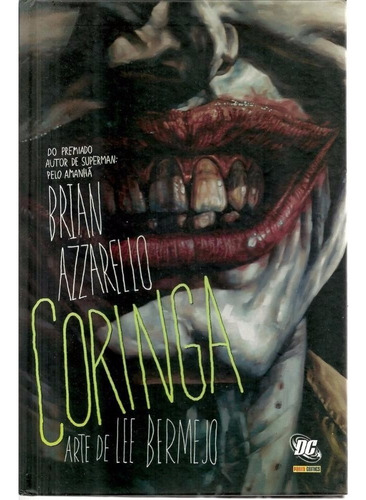 Coringa Encadernado Capa Dura - Panini - Bonellihq Cx319 F18 Original
