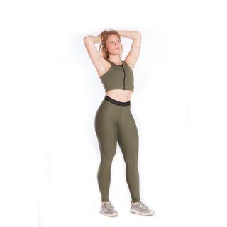 Legging Montaria Elastico Light Plus Verde Militar