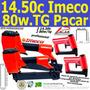 14/50c Imeco (2)+(2) Grampeadorres 80w/tg  Pacar Kit 4