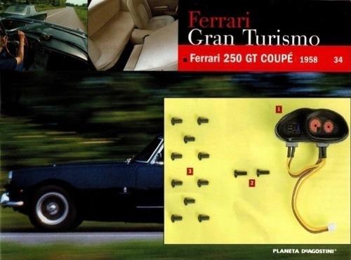 Fascículo 34 Ferrari Enzo Planeta De Agostini Original