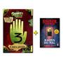 Gravity Falls Diário 3 Livro Stranger Things Raizes Do Mal
