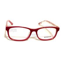 Armação De Óculos De Grau Gucci Gg6124 Vermelho Marsala 59463722b9