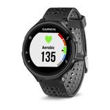 Relógio GPS Monitor Cardíaco Forerunner 235 HRM no Pulson Preto e Cinza Garmin 010-03717-57