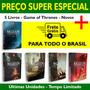 Kit Game Of Thrones 5 Livros Em Português Lacrado