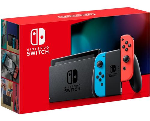New Nintendo Switch 32gb - Novo, Lacrado E Garantia! Original