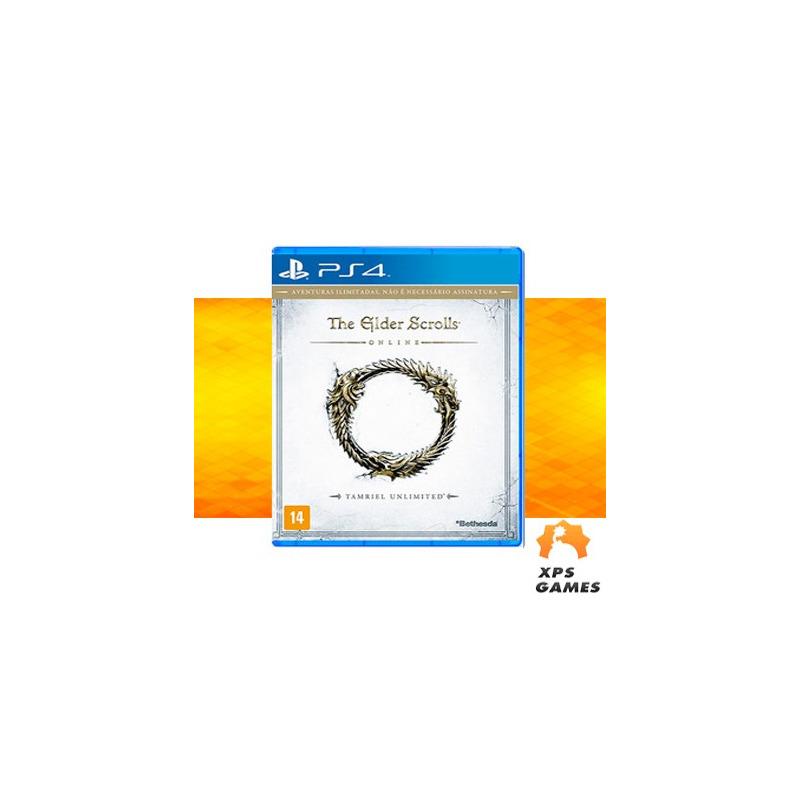 Jogo The Elder Scrolls Online (Tamriel Unlimited) - PS4