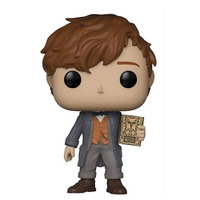 Newt Scamander Chase Edition Pop Funko #14 - Animais Fantásticos 2 - Movies