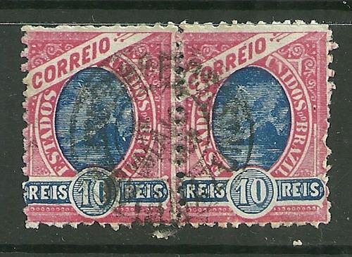 1902/1905 - Madrugada Republicana - 10 Réis - Rhm 99 Par Original