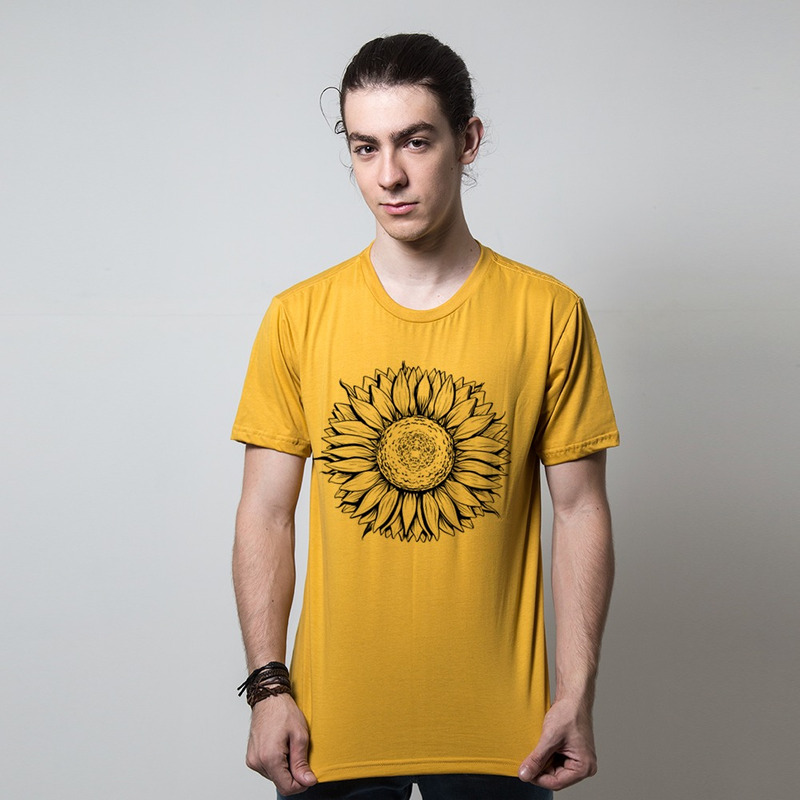 CAMISETA MOSTARDA - SUNFLOWER