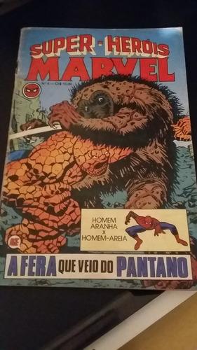 Gibi Antigo Super Herois Marvel Numero 04 Rge 1979 Original