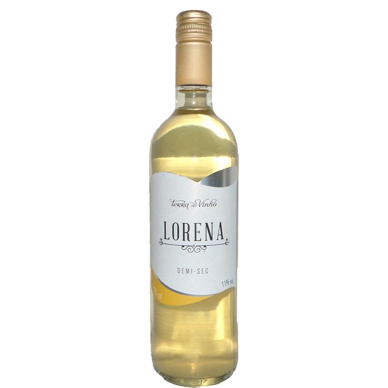 Vinho Fino Branco Lorena Demi-Sec 720ml - Adega Terra do Vinho