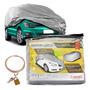 Capa Cobrir Automotiva Carro Protetora Forrada Com Cadeado M