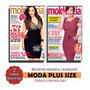 Kit 2 Revistas Moda E Cia Plus Size Molde Tamanho Grande