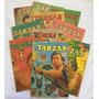 Lote Com 10 Gibis Tarzan Nº 1 A 10 1ª Série Fac símile