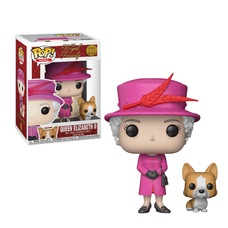 Rainha Elizabeth II Pop Funko #01- Royals