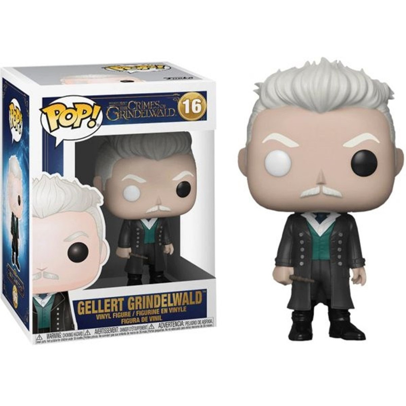 Funko Pop Gellert Grindelwald #18 - Fantastic Beasts Animais Fantásticos 2 - Harry Potter