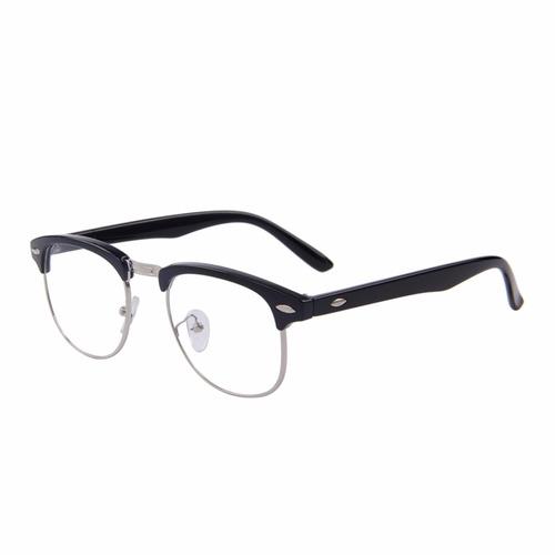 ... comprar Armação Óculos De Grau Acetato Metal Masculino Feminino Bs ... 952739c7bb