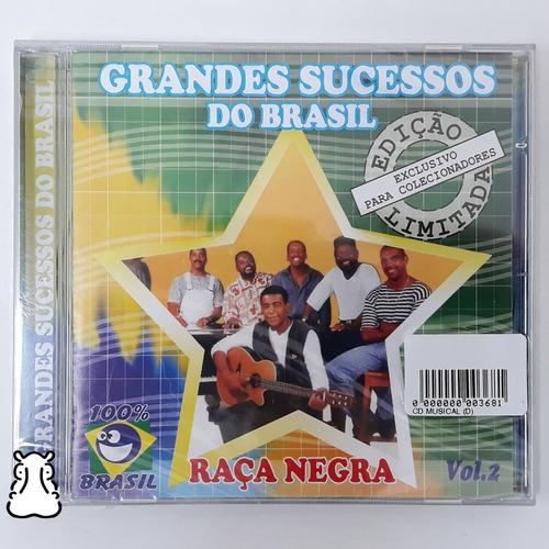Cd Raça Negra Grandes Sucessos Do Brasil Vol 2 Novo Lacrado Original
