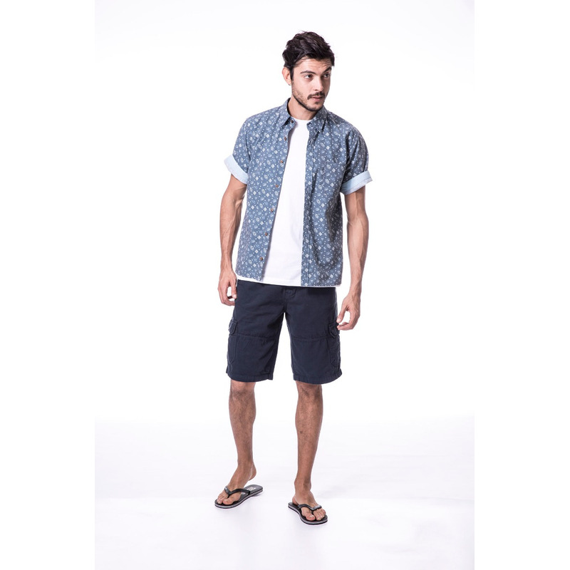 Camisa Long Island PD Azul