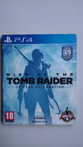 Rise Of Tomb Raider Edição De Colecionador Mídia Física Ps4 Original