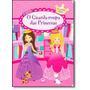 Livro Guarda Roupa Princesas 200 Adesivos Reutilizáveis