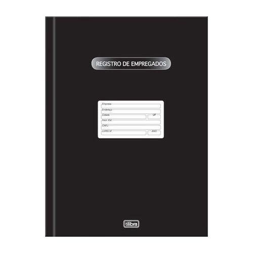Livro Registro De Empregados Com 100 Fls 121274 Tilibra Original