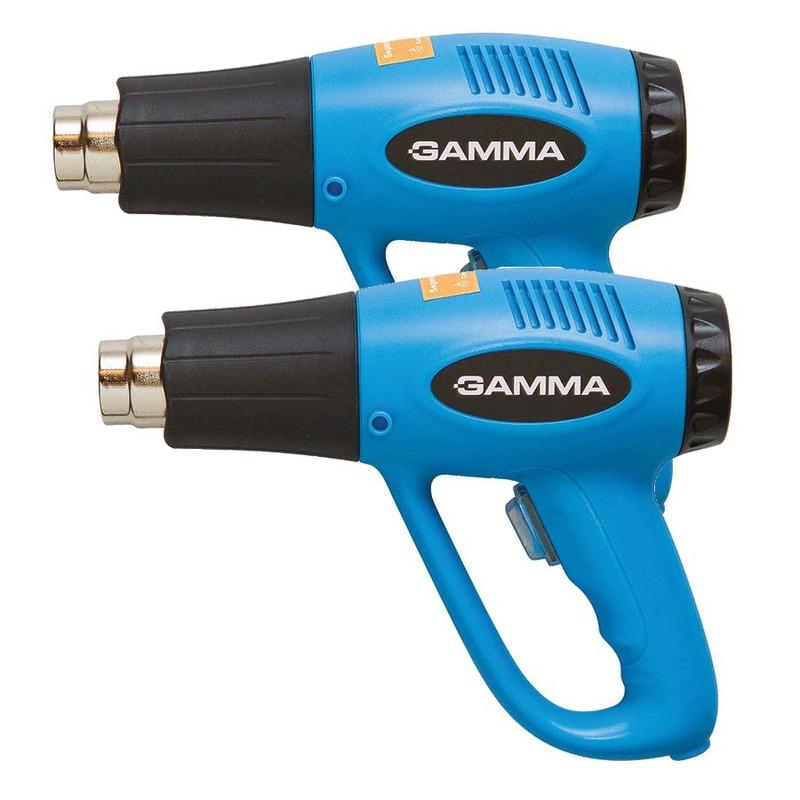 Kit Pistola Soprador Térmico 1500 Watts G1935BR Gamma Ferramentas - 2 Unidades<BR>