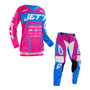 Roupa Conjunto Motocross Trilha Jett Evolution 2 Feminino