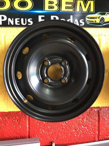 Roda De Ferro Renault 14 Sandero Symbol Logan Clio Kangoo !!